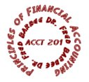 ACCT-201 Principles of Financial Accounting - Practice Exam